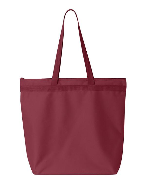 Liberty Bags Recycled Zipper Tote-blank-Adam Block Design