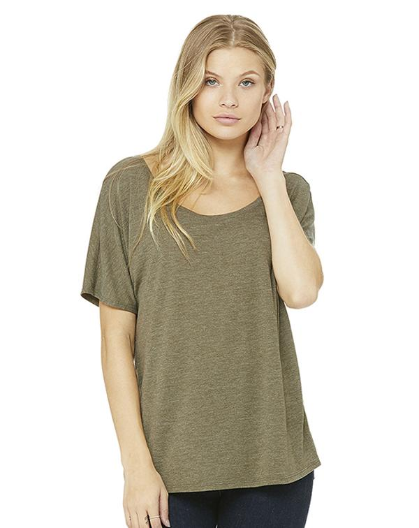 Bella Women's Slouchy Tee-blank-Adam Block Design