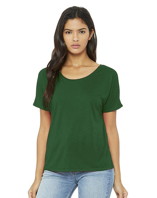 Bella Women's Slouchy Tee-Adam Block Design