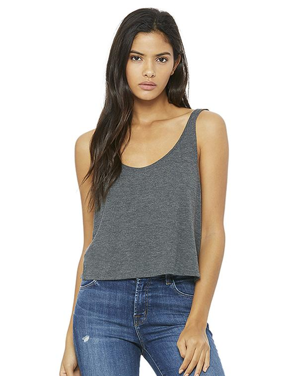 Bella Women's Flowy Boxy Tank-Adam Block Design