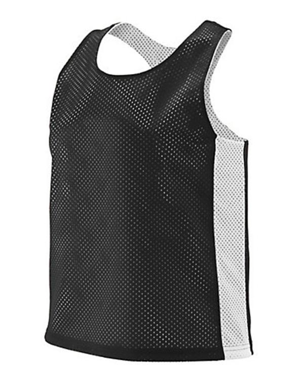 Augusta Ladies Reversible Tricot Mesh Lacrosse Tank-Adam Block Design