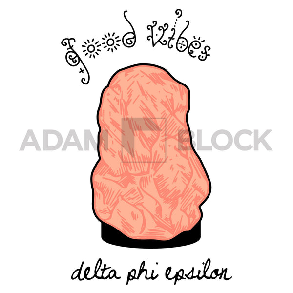 Delta Phi Epsilon Good Vibes T-shirt-#originals-Adam Block Design