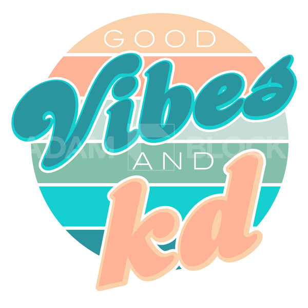 Kappa Delta Good Vibes Tank-#originals-Adam Block Design