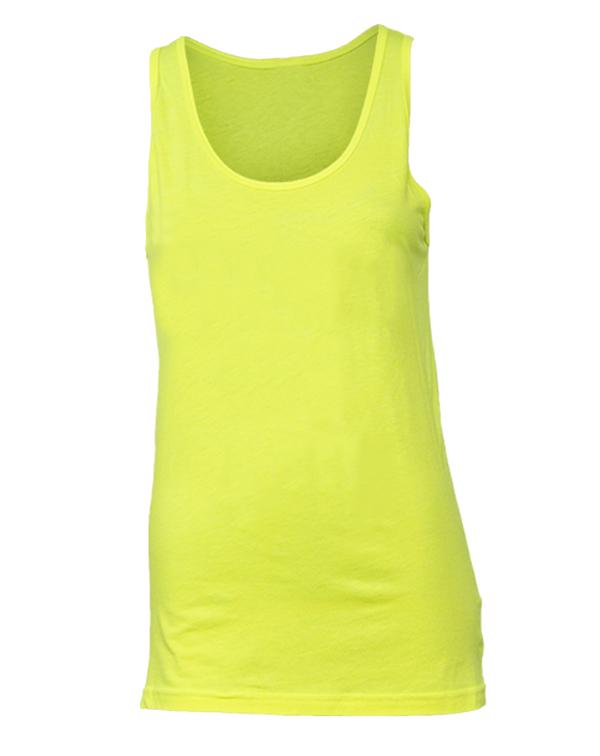 American Apparel Unisex Poly-Cotton Neon Tank-Adam Block Design