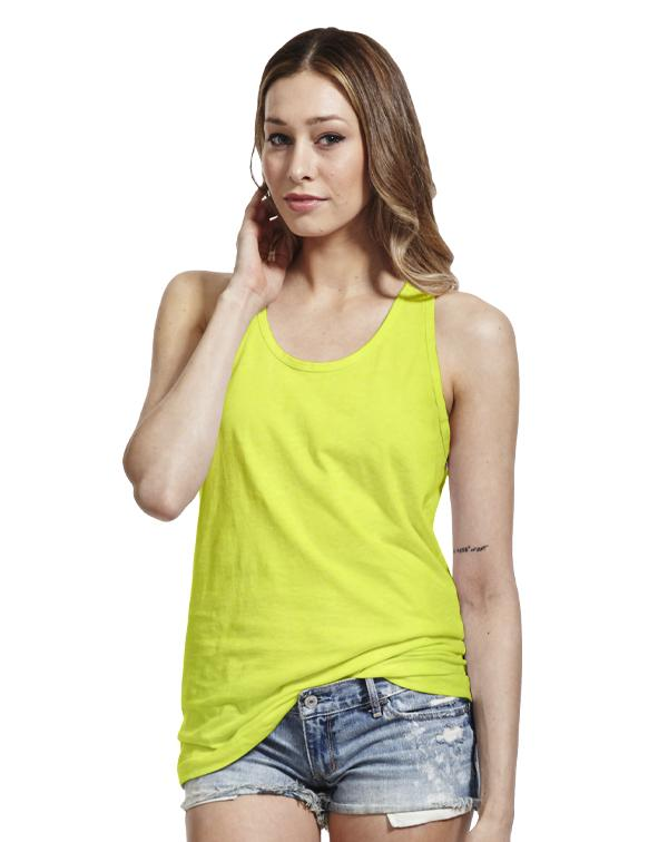 American Apparel Unisex Poly-Cotton Neon Tank-blank-Adam Block Design