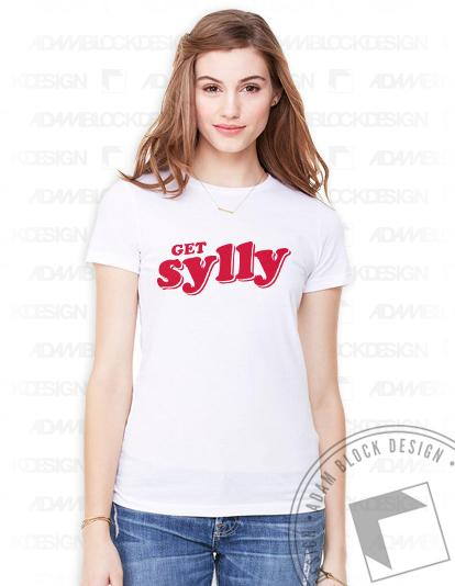 Get Sylly Tee-Adam Block Design