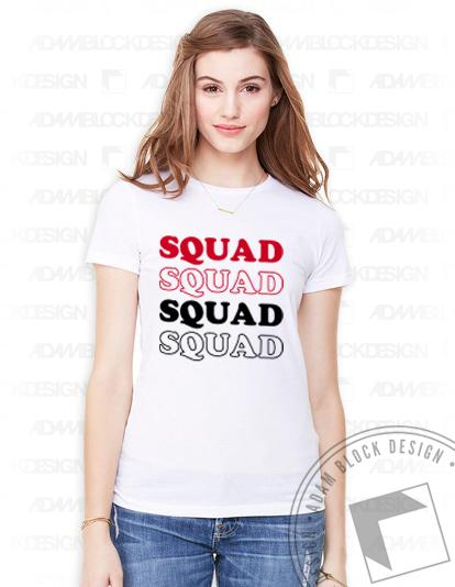 Squad Goals Tee-Adam Block Design