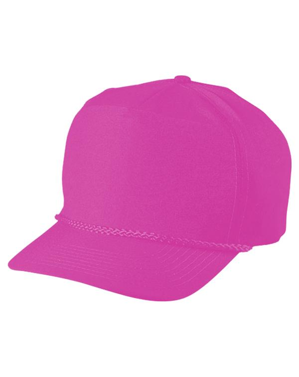 5-Panel Polyester Cap-blank-Adam Block Design