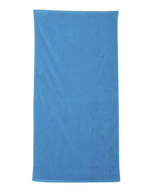 Velour Beach Towel-blank-Adam Block Design