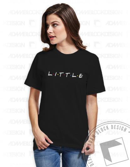 Big + Little Friends Tees-Adam Block Design