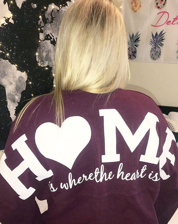 Home Is Where The Heart Is Spirit Jersey-Adam Block Design