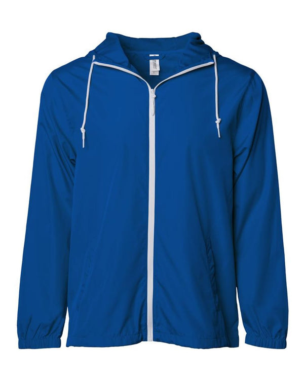 ITC Water-Resistant Lightweight Windbreaker-blank-Adam Block Design