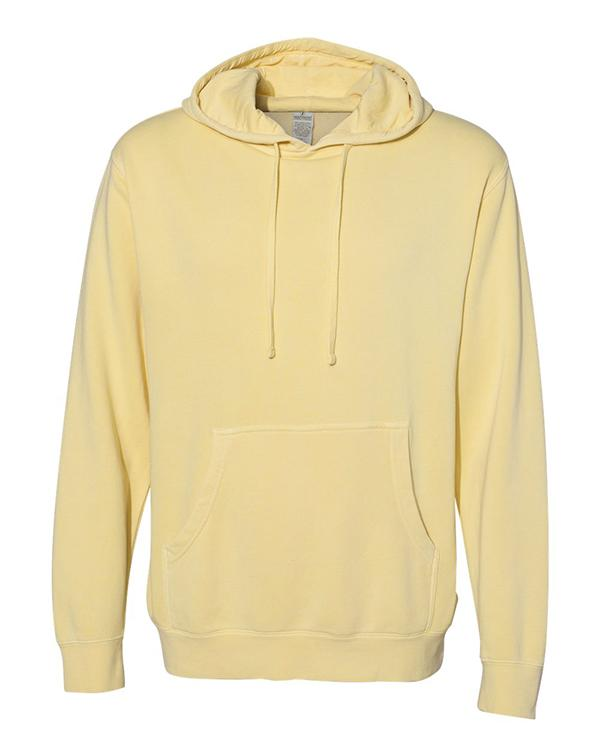 ITC Heavyweight Pigment-Dyed Hooded Sweatshirt-blank-Adam Block Design
