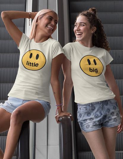 Big + Little Smiley Tees-Adam Block Design