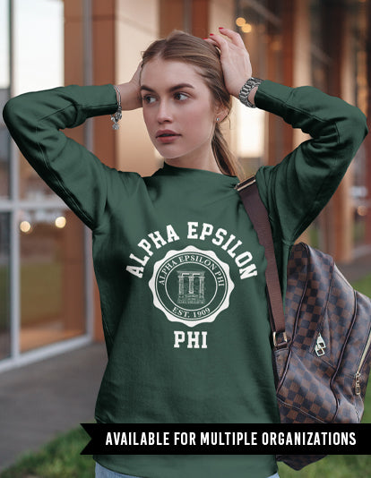 Old School Crest Sweatshirt-Adam Block Design