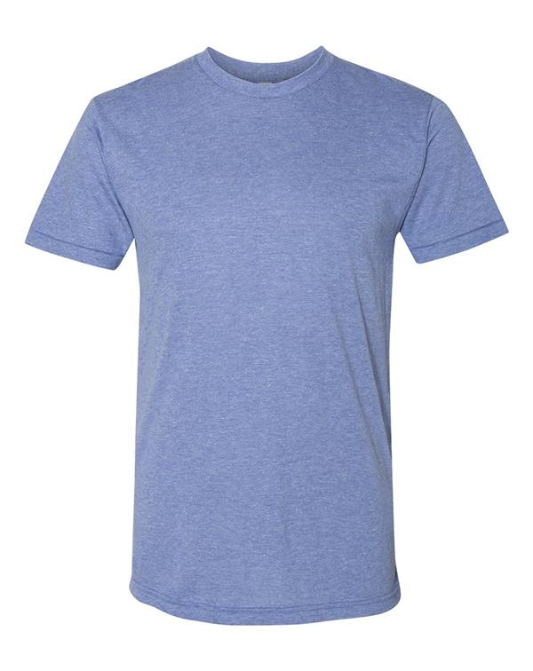 American Apparel Triblend Track T-Shirt-Adam Block Design