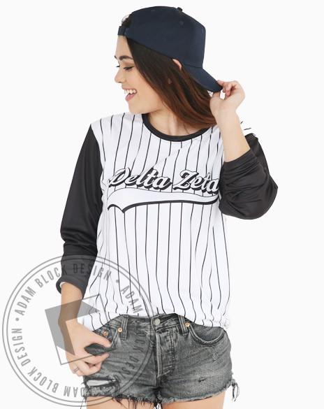 All-Over Print Baseball Tee-Adam Block Design