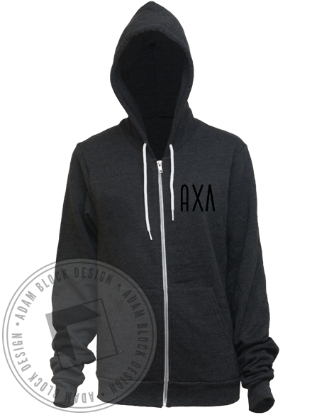 Alpha Chi Lambda Nature Hoody-gallery-Adam Block Design