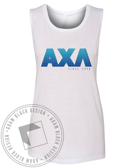 Alpha Chi Lambda Starry Letters Tank-gallery-Adam Block Design