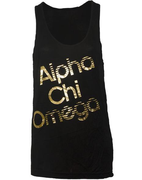 Alpha Chi Omega Dream Tank Top-Adam Block Design