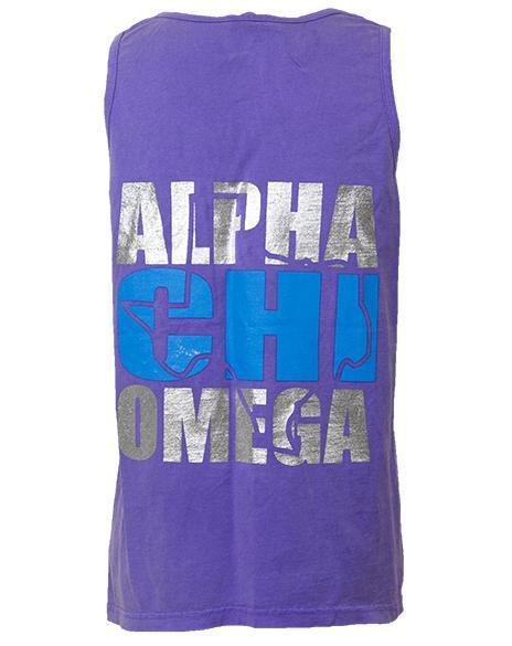Alpha Chi Omega Gotta Go AXO Tank Top-Adam Block Design