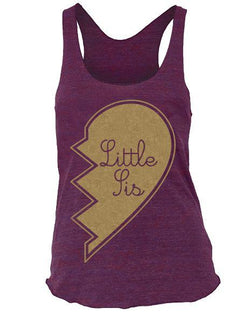 Alpha Chi Omega Little Sis Tank Top-Adam Block Design