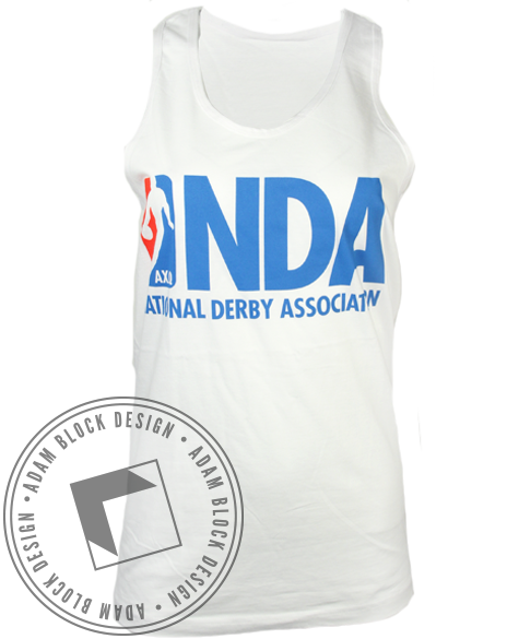 Alpha Chi Omega NBA Tank Top-Adam Block Design
