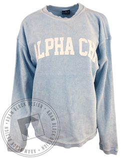 Alpha Chi Omega Simple Camden Crew-gallery-Adam Block Design