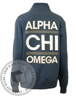Alpha Chi Omega Simple Pullover-Adam Block Design