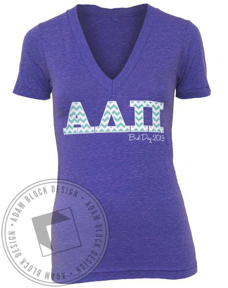 Alpha Delta Pi A list Tank Top-Adam Block Design