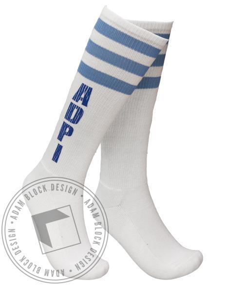 Alpha Delta Pi ADPi Socks-gallery-Adam Block Design