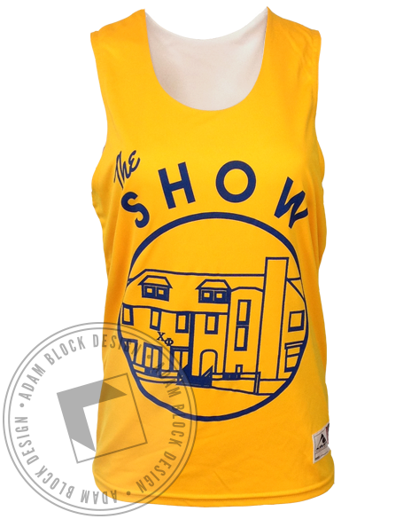 Alpha Delta Pi And Chi Phi The Show Jersey-Adam Block Design