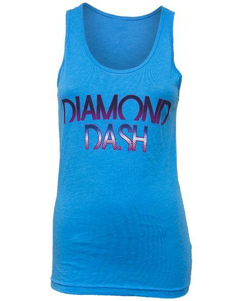 Alpha Delta Pi Diamond Dash Tank Top-Adam Block Design