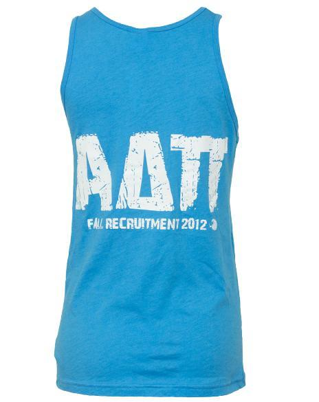 Alpha Delta Pi Fancy Huh Tank Top-Adam Block Design