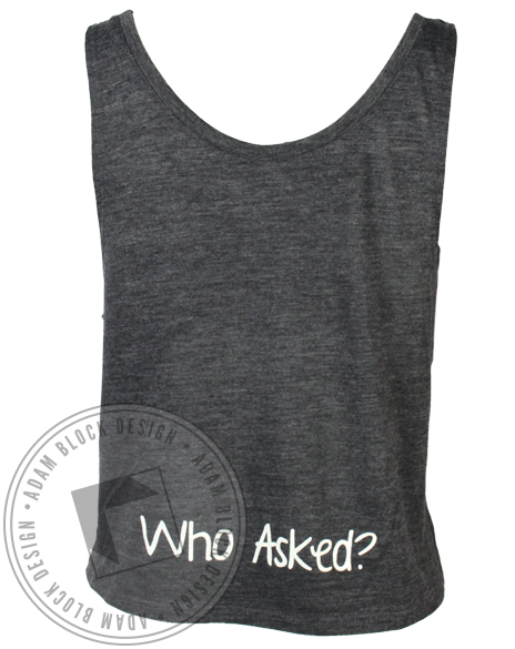 Alpha Delta Pi Seniors Tank Top-Adam Block Design