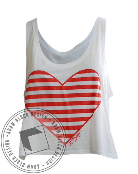 Alpha Delta Pi Tots Tank Top-Adam Block Design