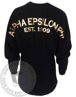 Alpha Epsilon Phi 1909 Derby Jersey-Adam Block Design