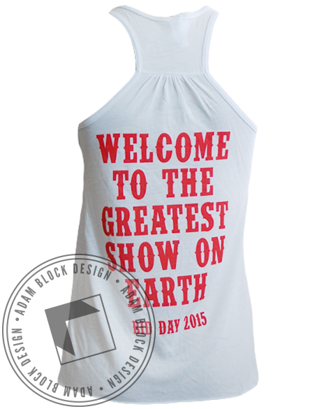 Alpha Epsilon Phi Circus Tank Top-Adam Block Design