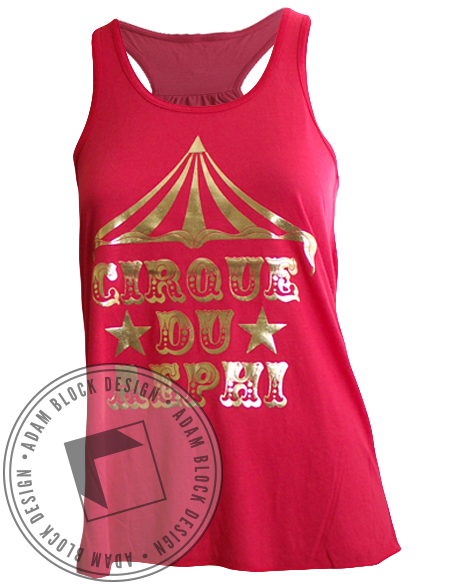 Alpha Epsilon Phi Cirque Tank Top-Adam Block Design