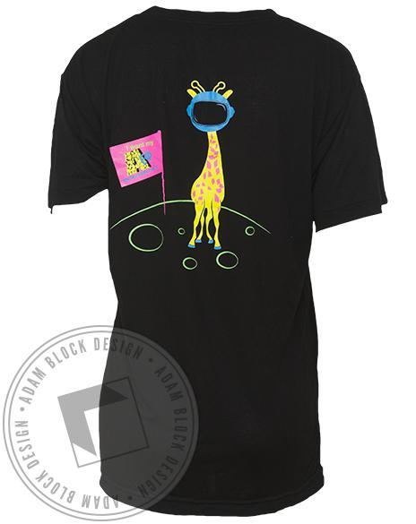 Alpha Epsilon Phi Giraffe Slouchy Tee Shirt-gallery-Adam Block Design