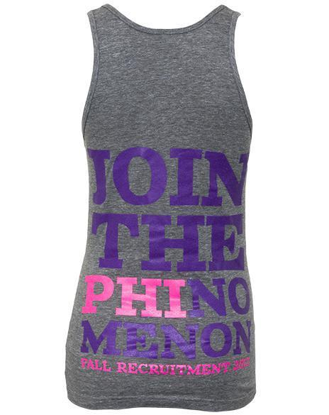 Alpha Epsilon Phi Join Tank Top-gallery-Adam Block Design