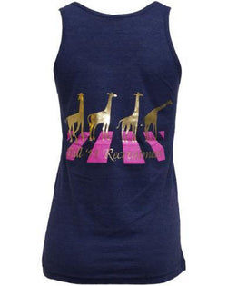 Alpha Epsilon Phi Love Giraffe Tank Top-Adam Block Design