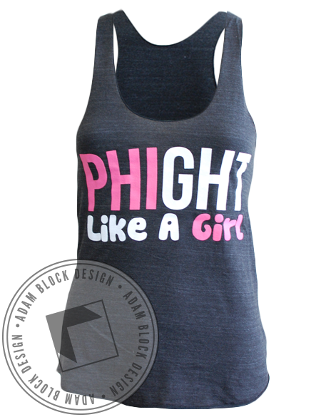 Alpha Epsilon Phi Phight Tank-Adam Block Design
