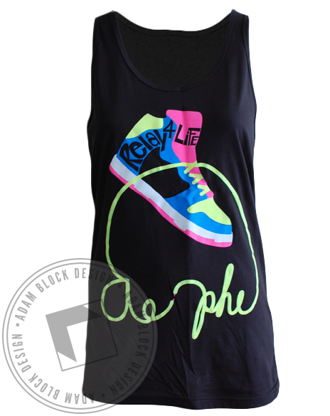Alpha Epsilon Phi Relay 4 Life Tank-Adam Block Design