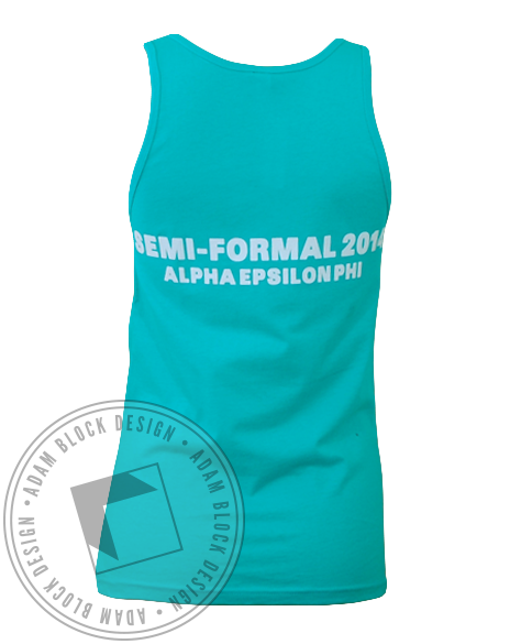 Alpha Epsilon Phi Semi Formal Tank Top-gallery-Adam Block Design