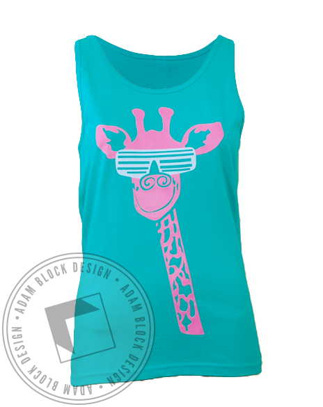 Alpha Epsilon Phi Semi Formal Tank Top-Adam Block Design
