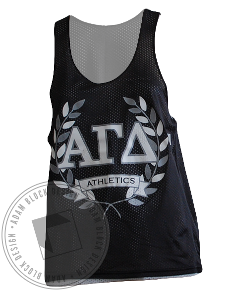 Alpha Gamma Delta Athletics Jersey-Adam Block Design