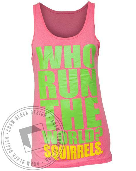 Alpha Gamma Delta Squirrel Tank Top-gallery-Adam Block Design