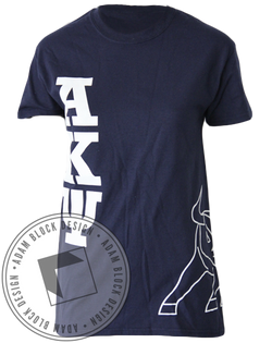 Alpha Kappa Psi Bull Tee-Adam Block Design