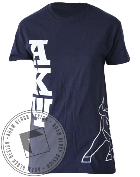 Alpha Kappa Psi Bull Tee-gallery-Adam Block Design
